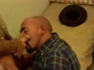 Tough Daddy Bears Blowjob