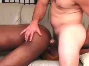 White Dude Pounding a Black Gay