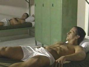 Horny Army Bodybuilders