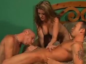 MILF In a Bisexual MMF Movie
