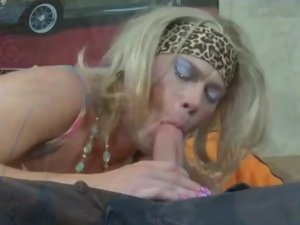 Silvester and Connor kinky gay crossdresser action