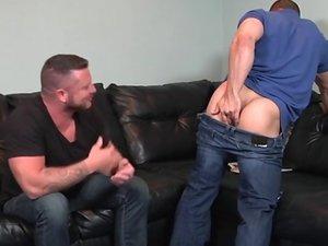 Cheating Husband Part 3 - Charlie Harding & John Magnum - STG - Str8 to Gay