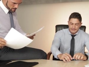 The Business Of Sex Part 1 - TGO - The Gay Office - Dato Foland & Denis Vega
