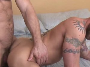 Derek Parker Yearns to Feel Jessy Ares' Uncut Cock Deep Inside Him