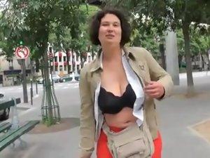 French BBW Audrey gangbanged_240p