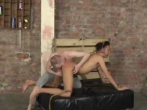 Arse Play And Flogging Before Getting Fucked! - Justin Blaber and Sean Taylor