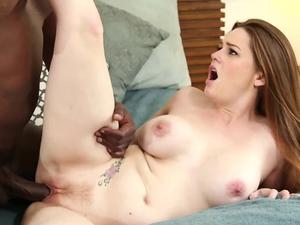 Black dude destroys Allison Moore's Tight Pussy