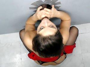 Abella Danger. Porn Glory Hole video
