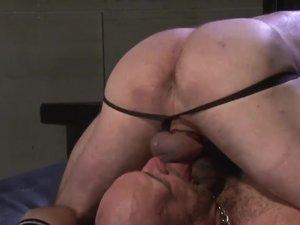 Peter Axel and Carl Barnes Bareback Flip Fuck