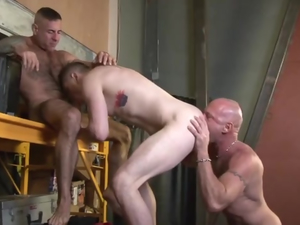 Chad Brock with Nick Moretti and Blue Bailey