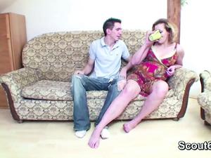 Petite Step-Son Seduce Pregnant mom to Fuck_720p