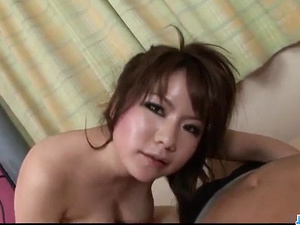 Meina sucking and fucking while the cam is rolling