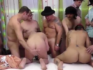 porno punk lady in wild gangbang
