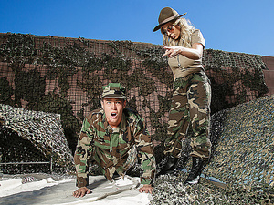 Brazzers – The MILF In The Military