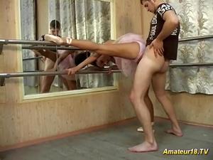 flexi big natural breast ballerina