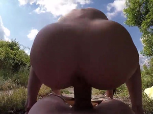 Fake Hub – Russian Goldilocks Creampied Outdoors