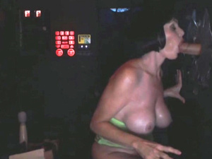 Fucking a fat woman from behind