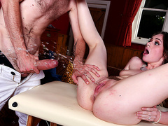 Brazzers - A Surprise Stroke And Squirt