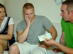 18 Videoz - Lota - He needs the money and she needs cock