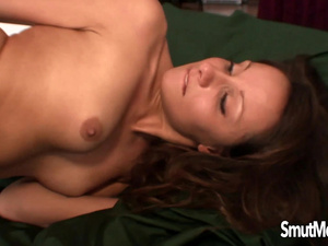 Young girl KJ Alex takes big cock