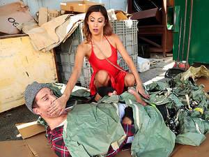 Sneaky Sex – Dumpster Diving