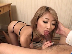 Superb solo scenes along slim Rui Hayakawa - More at javhd.net