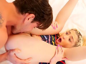 Horny Stepdaughter Spots Stepdad's Big Dick