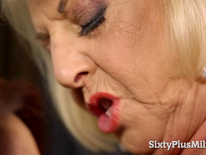 SixtyPlusMilfs - Two Mature Whores Had a Wild Threesome