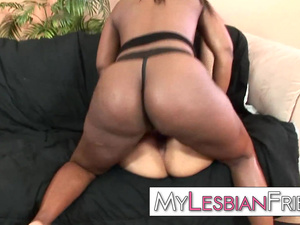 black lesbian anal domination