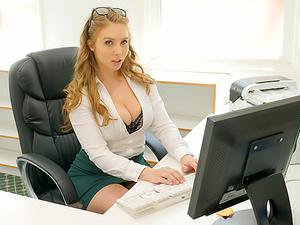 Cum Into My Office