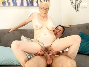 Granny Creampie
