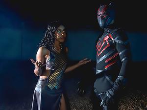 Dark Panther: A DP XXX Parody