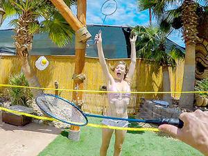 Badminton Tease