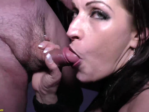 milfs first anal DP gangbang party