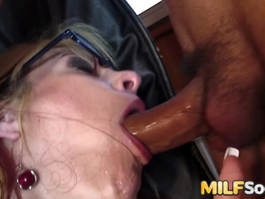 MILF Crystal Law gets anal ramming