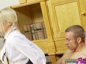 Slutty teen schoolgirls Angel Long and Cindy Behr pleasure two old men