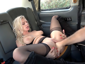 Polish blonde escort fucked
