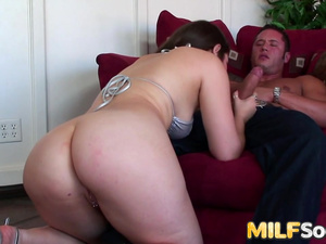MILF Charlotte Vale Spreads Her Ass Cheeks and Stuffs Them with Cock