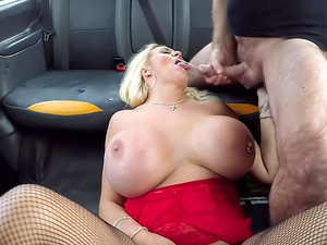 Massive boobs titwank and hard fuck