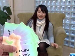 Kokona Sakurai loves posing while masturbating  - More at javhd.net