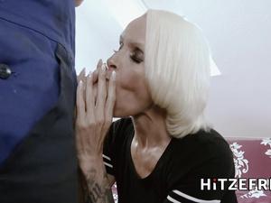 HITZEFREI German housewife Sophie Logan fucked hard