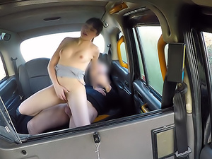 Hairy French tight pussy penetrated