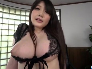 Rie Tachikawa, big tits Japanese, enjoys a good cock - More at javhd.net