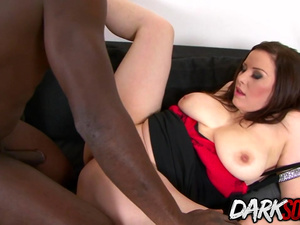 Hot Carol Wings Takes Care of a BBC with Her Natural Tits n Lustful Asshole