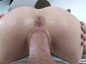 NYMPHO Alex Blake has her tight hole penetrated