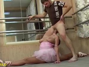 young busty ballerina flexi fucked