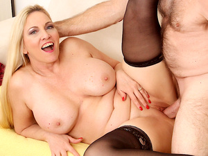 Passionate Mature Sex with Big Tits Grandma Cala Craves