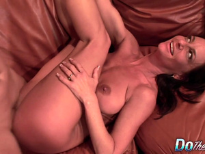 Mature Wife Sarah Bricks Gets Drilled in Front of Her Passive Cuckold Hubby