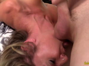 Hot and Wild Fuck Session with Mature Blonde Floozy Sky Haven