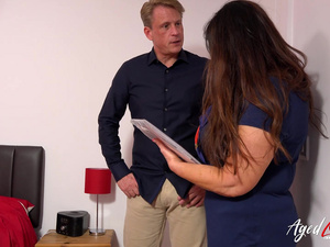AgedLovE Real Estate Mature Seduced and Fucked